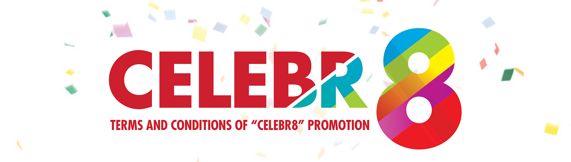 Celebr8 Terms & Conditions