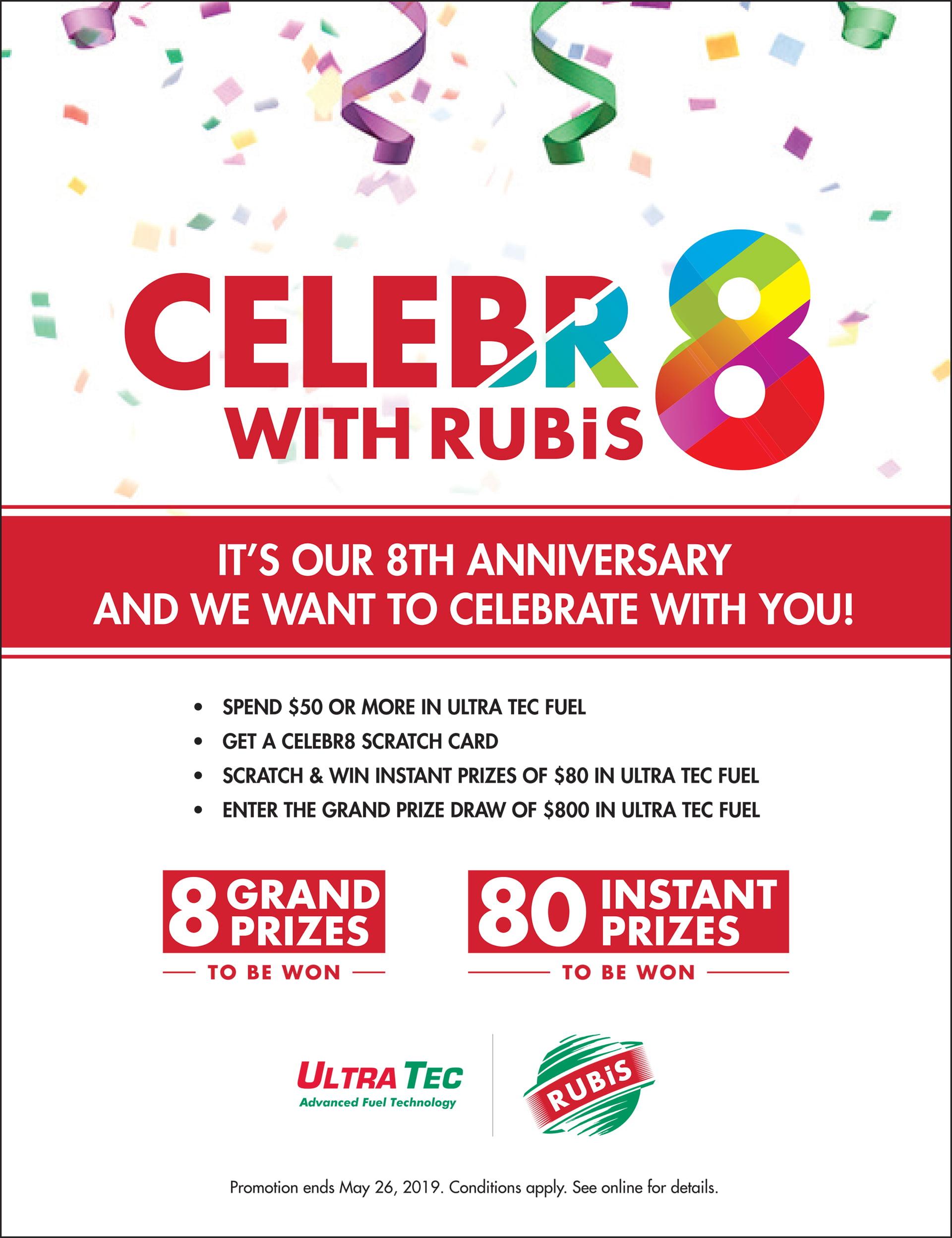 Celebr8 Press Ad