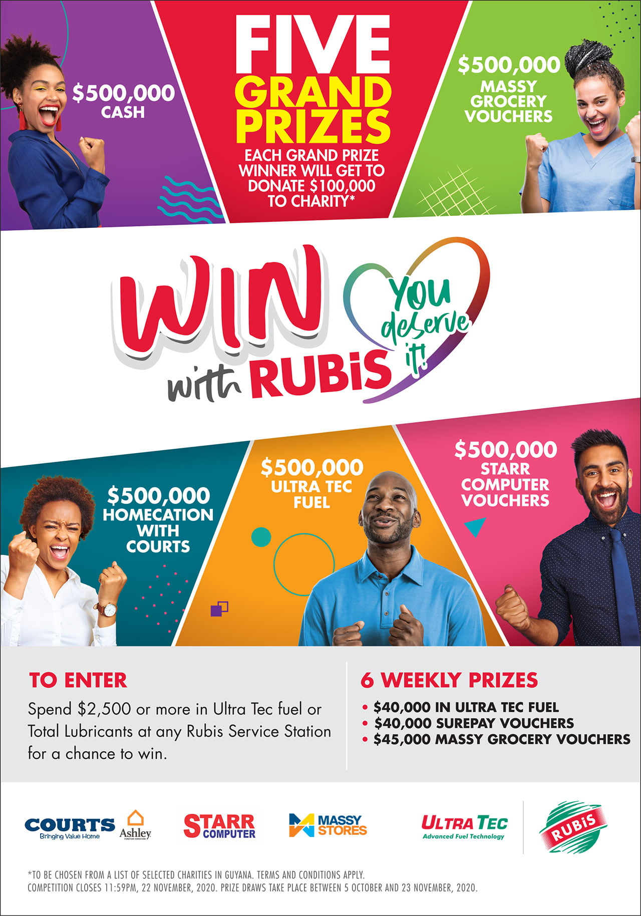 Win With RUBIS ad