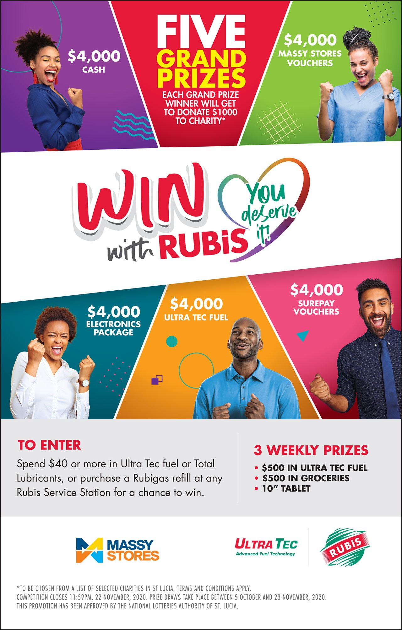 WIN WITH PRESS AD